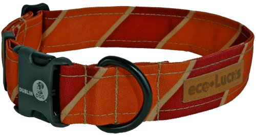 "eco-Lucks Dog Collar, Varsity, Large 15"" x 24"""