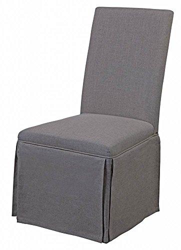 Sensational Bassett Mirror Company 39 In Skirted Parsons Chair Set Of 2 Pdpeps Interior Chair Design Pdpepsorg