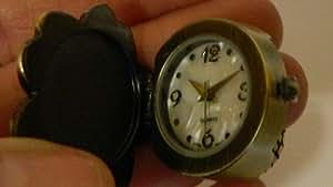 Avon Spring Fling RING Watch - Purple FLOWER