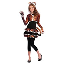 Rubie's Drama Queens Tween Tigress Costume - Tween Medium (2-4)