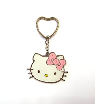 Llavero Fab Design de Hello Kitty esmaltado: Amazon.es ...