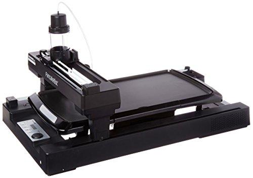 1BK2 - Pancake Printer, Black (Adjustable Card File)