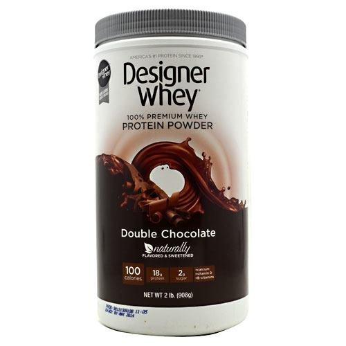 - Designer Protein Designer Whey - Double Chocolate, 2 lb (908g) - (3 Pack) by Designer Protein