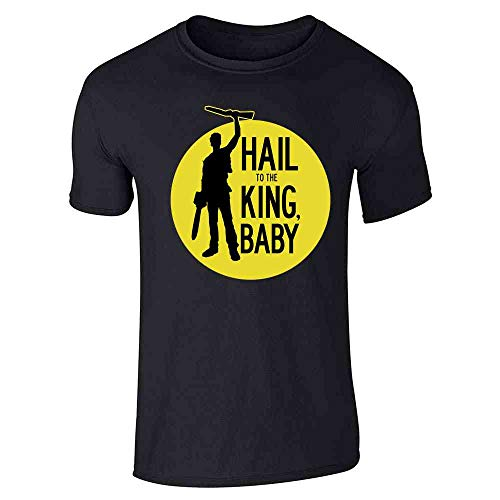 Hail to The King Baby Horror Army Zombie Black XL Short Sleeve T-Shirt