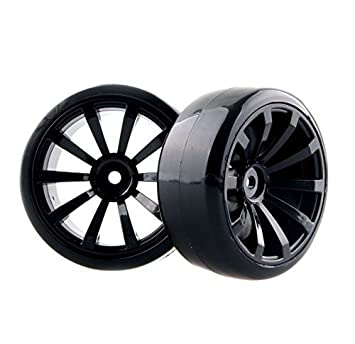 Hobbypower Rc Hard Tires Tyre Plastic Wheel Rim Hsp