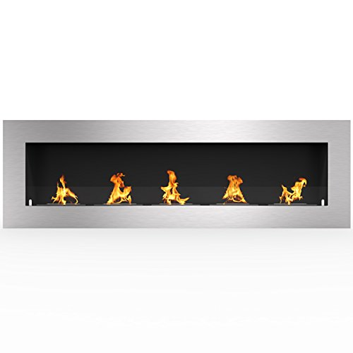 "Regal Flame Warren 72"" PRO Ventless Built In Wall Recessed Bio Ethanol Wall Mounted Fireplace Similar Electric Fireplaces, Gas Logs, Fireplace Inserts, Log Sets, Gas Fireplaces, Space Heaters, Propane"