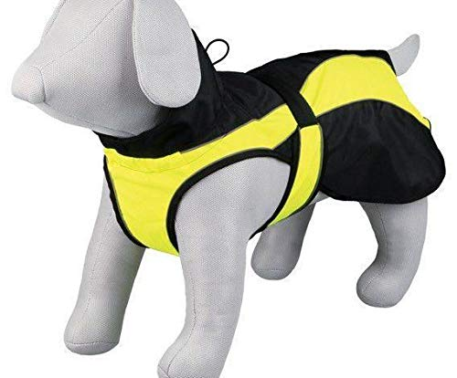 Reflective Clothing Safety Black-Yellow L 55 cm, Trixie, Vests, Clothes, Shoes, Dogs by Czech Beads Exclusive
