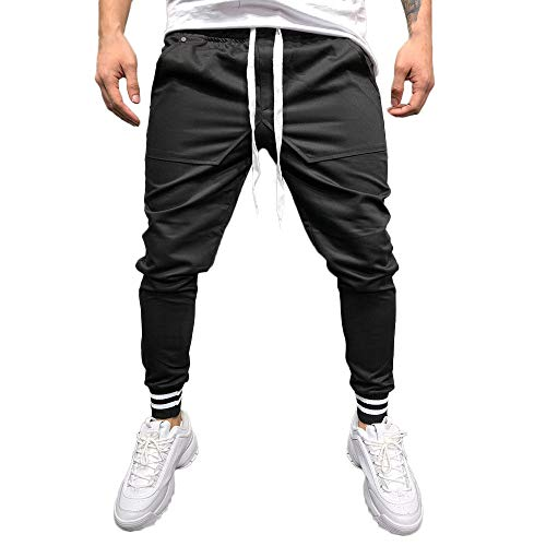 Homme Skang Solid Noir Skang Pantalon Pantalon dZwq8q1Ig