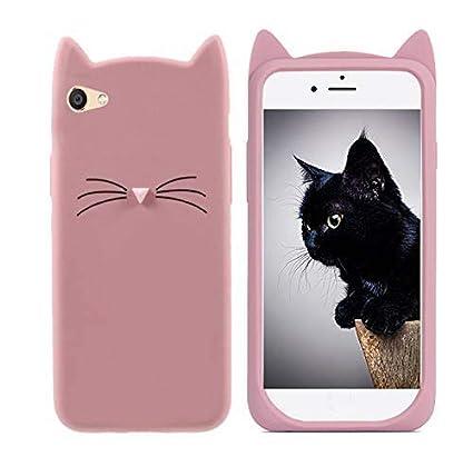promo code bac7d 7eacd Mobiclonics®Cute Cartoon Cat Ears Soft Silicone: Amazon.in: Electronics