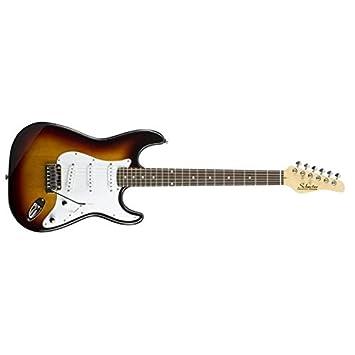 Schecter VS-Guitarra Eléctrica 1-3TSB Tipo Stratocaster: Amazon.es: Instrumentos musicales
