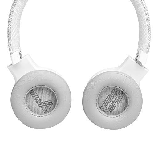JBL Live 400BT On-Ear Wireless Headphones – White