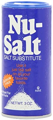 Nu Salt, 3-Ounce Shaker (12 Count)