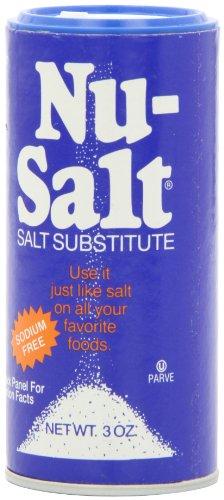 Nu-Salt, 3-Ounce Shaker (Pack of 12)