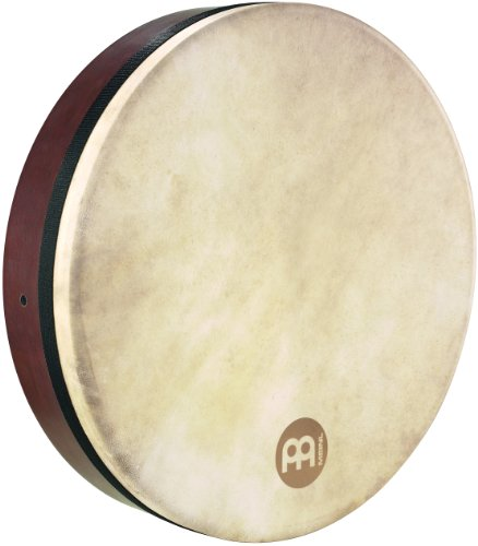 Meinl Percussion FD18BO 18-Inch Bodhran With Goat Skin Head, African Brown