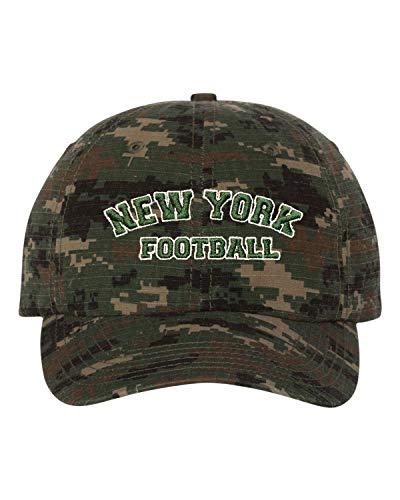 e4b43cae7 New York Jets Camouflage Caps. Adjustable Green Digital Camo Adult ...