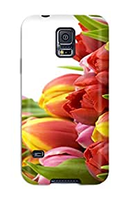 Tpu ZippyDoritEduard Shockproof Scratcheproof Flower Hard Case Cover For Galaxy S5