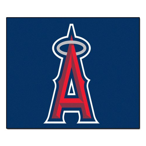 FANMATS MLB Los Angeles Angels Nylon Face Tailgater (Angels Tailgater Rug)