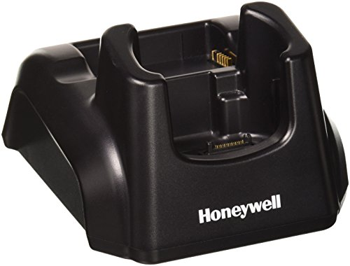 (Honeywell 6100-HB Home Base Single Slot Cradle for Dolphin 6100 Mobile Computer, RS232/SUB Communication, Spare Battery Charging Slot, Includes SUB)