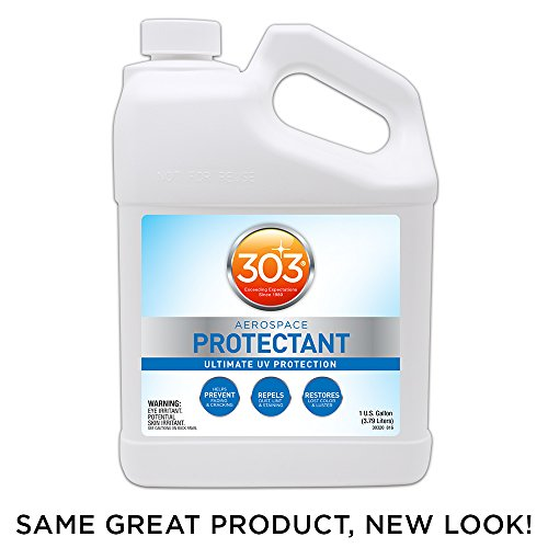 303 (30320) UV Protectant Gallon for Vinyl, Plastic, Rubber, Fiberglass, Leather & More - Dust and Dirt Repellant - Non-Toxic, Matte Finish, 128 Fl. oz.