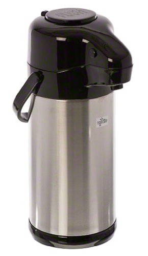 Update International (NVSP-30BK) 3 L Sup-R-Air Air Pot w/Black Push-Button Top by Update International