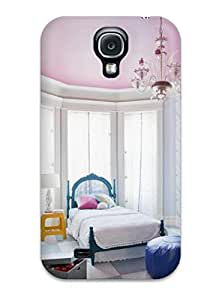 New Fashionable Carole TJPxSIn2208KLUDu Cover Case Specially Made For Galaxy S4(pink And Blue Girl8217s Bedroom)
