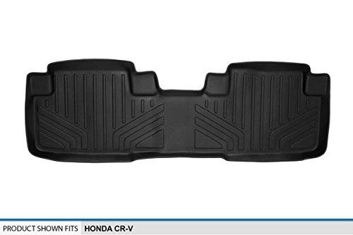 MAXLINER Floor Mats 2nd Row Liner Black for 2012-2016 Honda CR-V