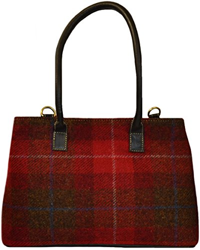 Heather By Bag Harriswear the Colours Available Red Direct Isle A001 Harris of 5 from Harris Tweed 5qFga