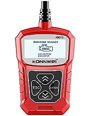 KKmoon KW310 Scanner automotivo universal, leitor de código automotivo profissional, ferramenta de digitalização de diagnósticoKKmoon vermelho KIE7828384310043WP
