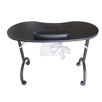 Amazon.com : Huini Foldable Dust Collector Manicure Nail Table Nail ...