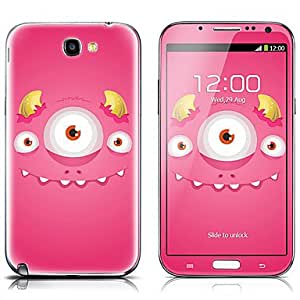 SX-087 Pig Pattern Front and Back Protector Stickers for Samsung Note 2 N7100