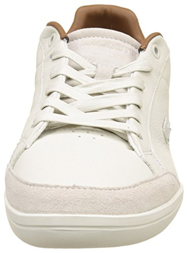 Blanc Homme 1 Wht Minimal Lacoste Basses Off 317 Baskets Set xCCO4