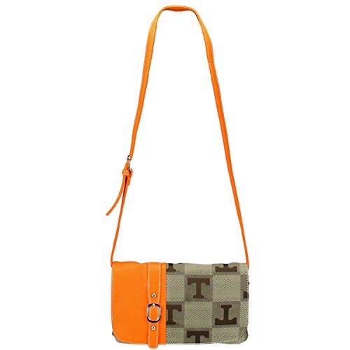 TENNESSEE VOLUNTEERS Signature Line Cross Body Handbag Style 8588