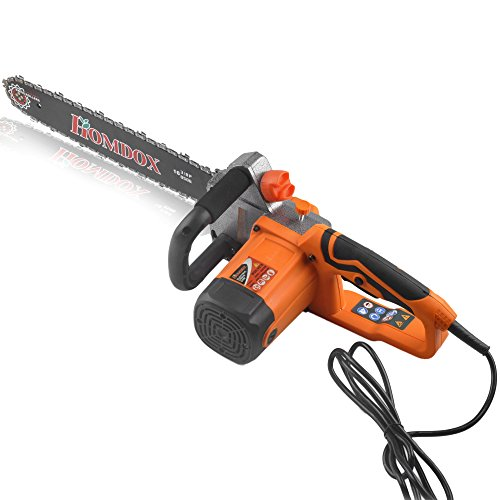 Cheapest Price! Homdox 16 Inch 14 Amp Electric Chainsaw Corded Tree Chain Saw