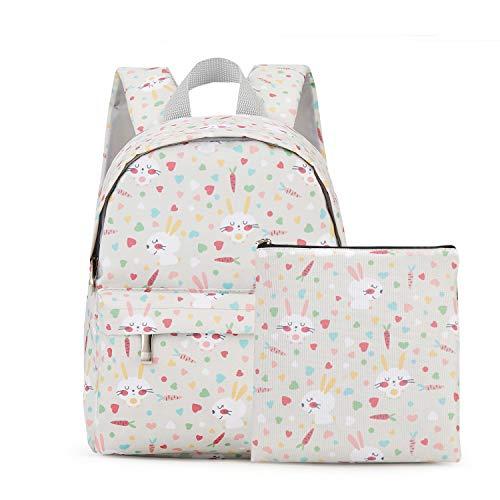 ba3ba2edd7 Kid s Lightweight Backpack Animal Kindergarten Bookbag lovely Child School  Bag Handbag 2 Pcs for Boys Girls