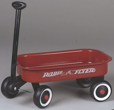 Radio Flyer Little Red Wagon 12-1/4 In. X 7-1/8 In. X 1-7...