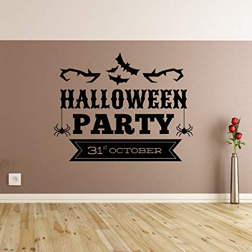 Susie85Electra Halloween Party 31St October Halloween Quote Wall Decal Vinyl Decal Car Decal