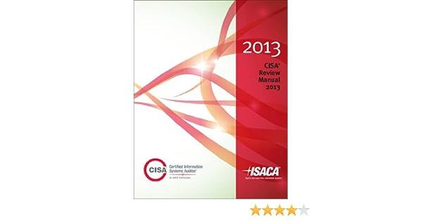 isaca cisa review manual 2013
