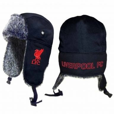 Liverpool FC Fur Trapper Hat