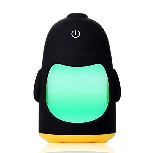 Price comparison product image EBDcom Penguin Night Light Humidifier USB 5V Ultrasonic Fogger Mist Maker Aroma Diffuser Difusor Aroma Humidificador