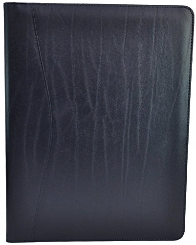 Royce Leather Aristo Padfolio (Navy Blue)