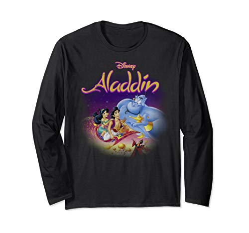 Disney Aladdin Magic Carpet Movie Cast Long Sleeve T-Shirt