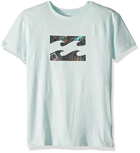 Billabong Boys' Little' Team Wave Tee, Sky, 6L