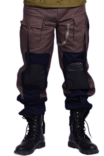 Bane Pant Cosplay Tactical Cotton Trouser for TDKR Halloween 2014 Medium ()