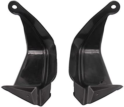 Bestlymood Moto Guidon Bar Hand Guard Shell Wind Shield Cover Protector pour XL125V XL 125V Varadero XL125V