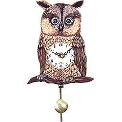 Alexander Taron Importer 204QP Black Forest Owl Clock