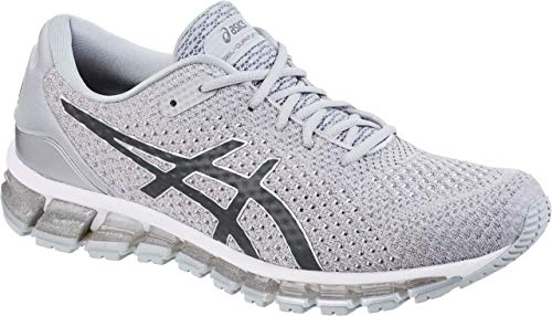 (ASICS Gel-Quantum 360 Knit 2 Men's Running Shoe, Silver/Dark Grey, 11 M US)