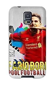 For Galaxy S5 Premium Tpu Case Cover Fabio Borini Protective Case by lolosakes