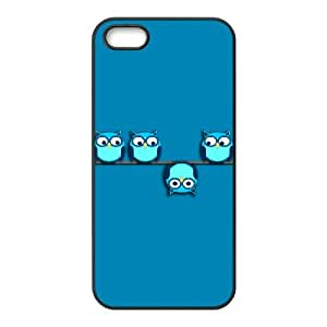 iPhone 4 4s Phone Case Covers Black A different perspective for the owl GUP Cell Phone Carrying Cases