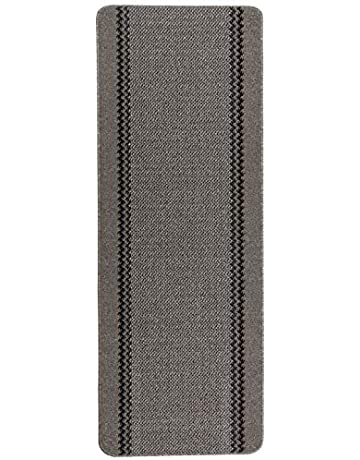 Dandy Kilkis Washable Hallway Runner, Carpet Runner, 180 x 67cm - Charcoal Grey