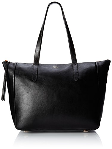 Fossil Sydney Tote, Black, One Size